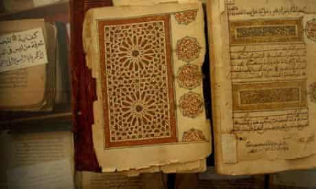 Ancient manuscripts, Timbuktu, Mali