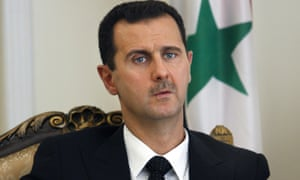 Bashar Assad.