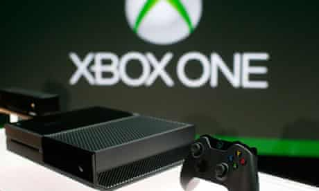 The Xbox One unveiled at a Microsoft press event in Redmond