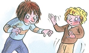 Horrid Henry and Perfect Peter illustration