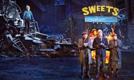 Charlie and the Chocolate Factory stage show written by David Grieg