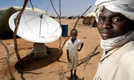 television refugee camp