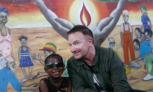 Bono in Tanzania