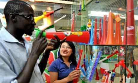 China made vuvuzela