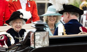 The Queen, Prince Charles, and the Duchess of Cornwall were joined by other members of the royal family for the annual service.
