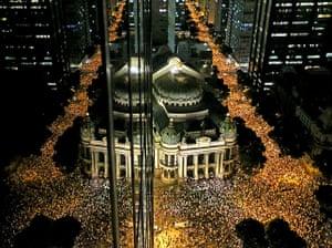 Brazil Protest:: Protests in Brazil - 17 Jun 2013