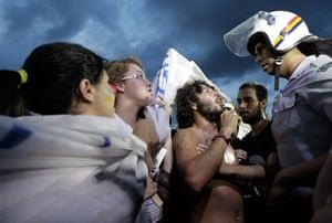 Brazil Protest:: protests