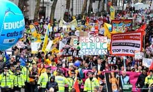 Public sector anti-cuts march 30/11/11