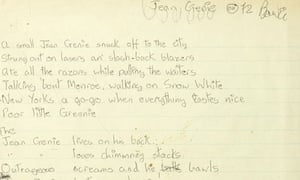 David Bowie, Jean Genie lyrics