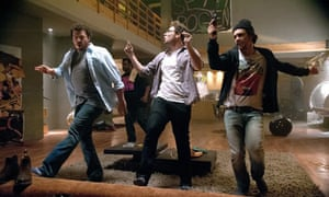 Danny McBride, Seth Rogen and James Franco in This Is The End