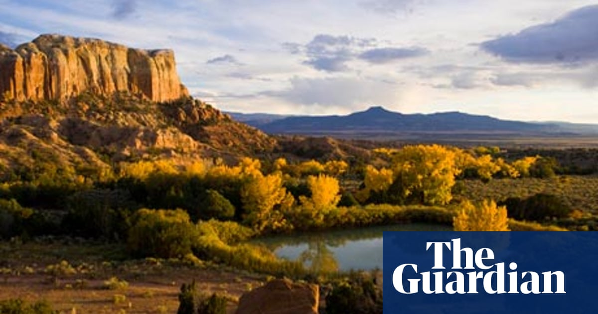 Texas and New Mexico: arid desert, ZZ Top, the blues and