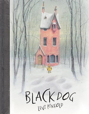 Greenaway medal: Black Dog by Levi Pinfold, book jacket