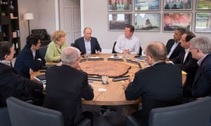 G8 leaders at summit in Northern Ireland