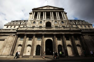 File photo dated 08/08/12 of a general view of the Bank of England.