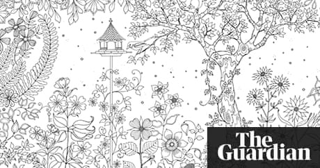 Secret Garden: colouring in for all   Life and style   The Guardian