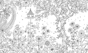 Secret Garden Colouring In For All