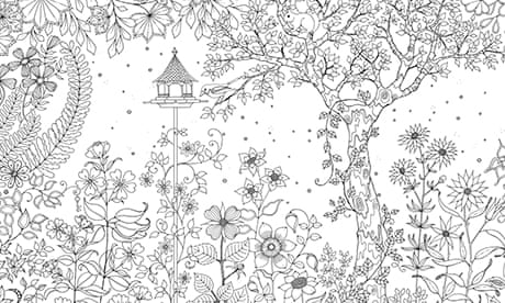 Secret Garden Colouring In For All Life And Style The Guardian