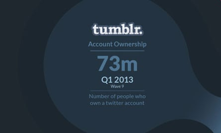 Tumblr users - infographic