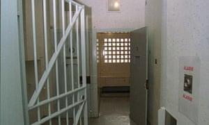 Police cells, Cambridge, UK
