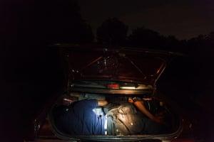Rohingya refugees: discovered in a car trunk outside Kuala Lumpur