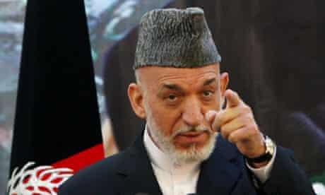 karzai taliban afghanistan