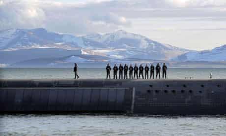 Trident submarine, Faslane