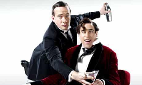Matthew Macfadyen will star as Jeeves (left) and Stephen Mangan as Wooster