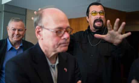 Steven Cohen, Steven Seagal, Dana Rohrabacher