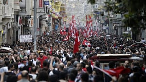 Istambul protests : Turkey protests in pictures
