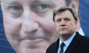 Ed Balls David Cameron poster