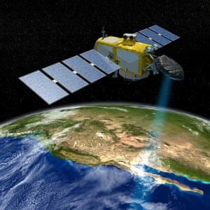 NASA illustration of a JASON satellite