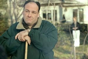 James Gandolfini Dies: Gandolfini as Tony Soprano in season 7 of 'The Sopranos'