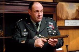James Gandolfini Dies: James Gandolfini as General Miller in 'In The Loop' a comedy