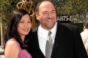 James Gandolfini Dies: James Gandolfini and his second wife Deborah Lin