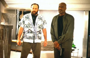 James Gandolfini Dies: James Gandolfini with Delroy Lindo in Get Shorty from 1995