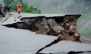 Indian landslides