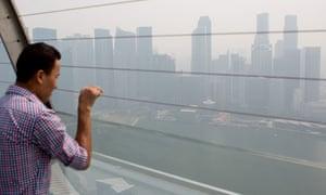 Singapore pollution
