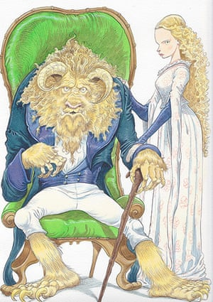National Bookstart Week: Beauty and the Beast by Chris Riddell