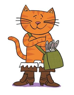 National Bookstart Week: Puss in Boots by Nick Sharratt