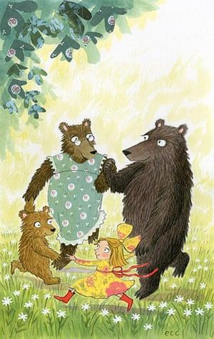 National Bookstart Week: Goldlilocks and the Three Bears by Emma Chichester Clark