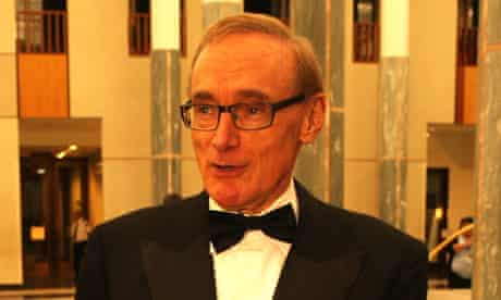 Australian foreign minister Bob Carr