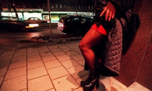 A prostitute in Stockholm in Sweden