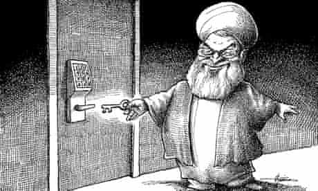 Rouhani cartoon
