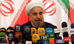 Hassan Rouhani press conference