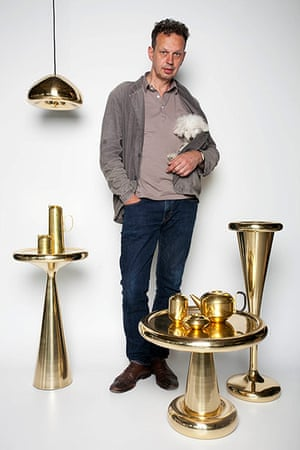 Dixonary: Tom Dixon at his shop in Portobello Dock