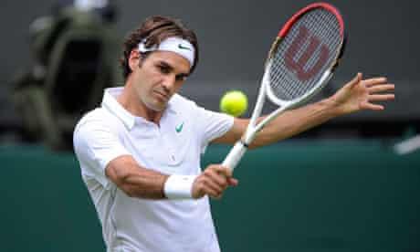 Roger Federer at Wimbledon 2012