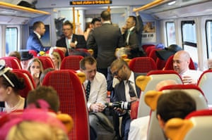 Ladies day at Ascot: First class travel from Waterloo station