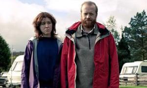 Alice Lowe and Steve Oram in Sightseers