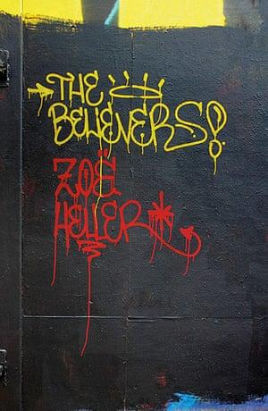 Penguin Street Art : The Believers by Zoe Heller