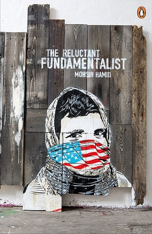 Penguin Street Art : The Reluctant Fundamentalist by Mohsin Hamid